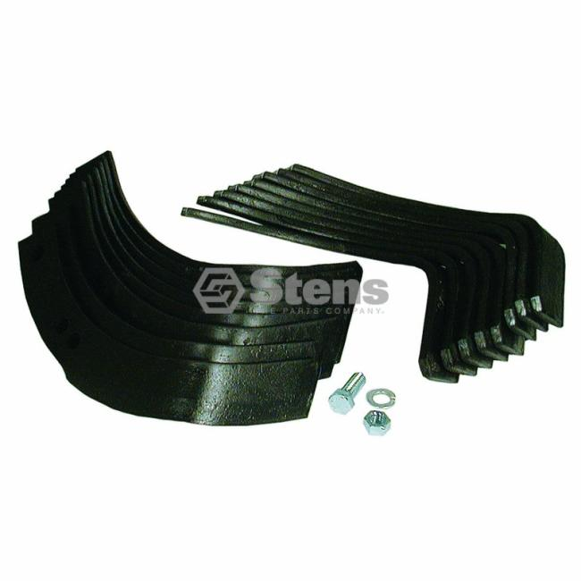 Rototiller Replacement Parts : Tiller tine set troy bilt