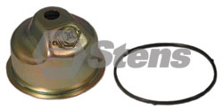 Detailed Parts Image of Stens CARBURETOR BOWL ASSEMBLY / HONDA / 16015-ZE0-831, $18.94 on sale now! 525-422, 525422, Discount online Lawnmower parts, engine parts, chainsaw parts